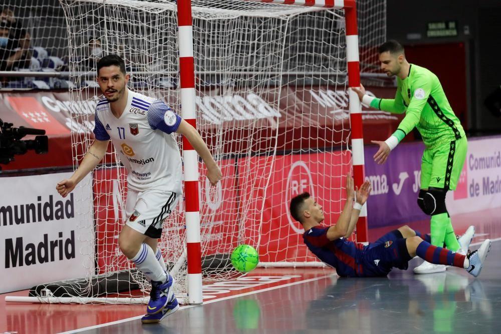 Copa de España: Levante UD FS - Sala 10 Zaragoza