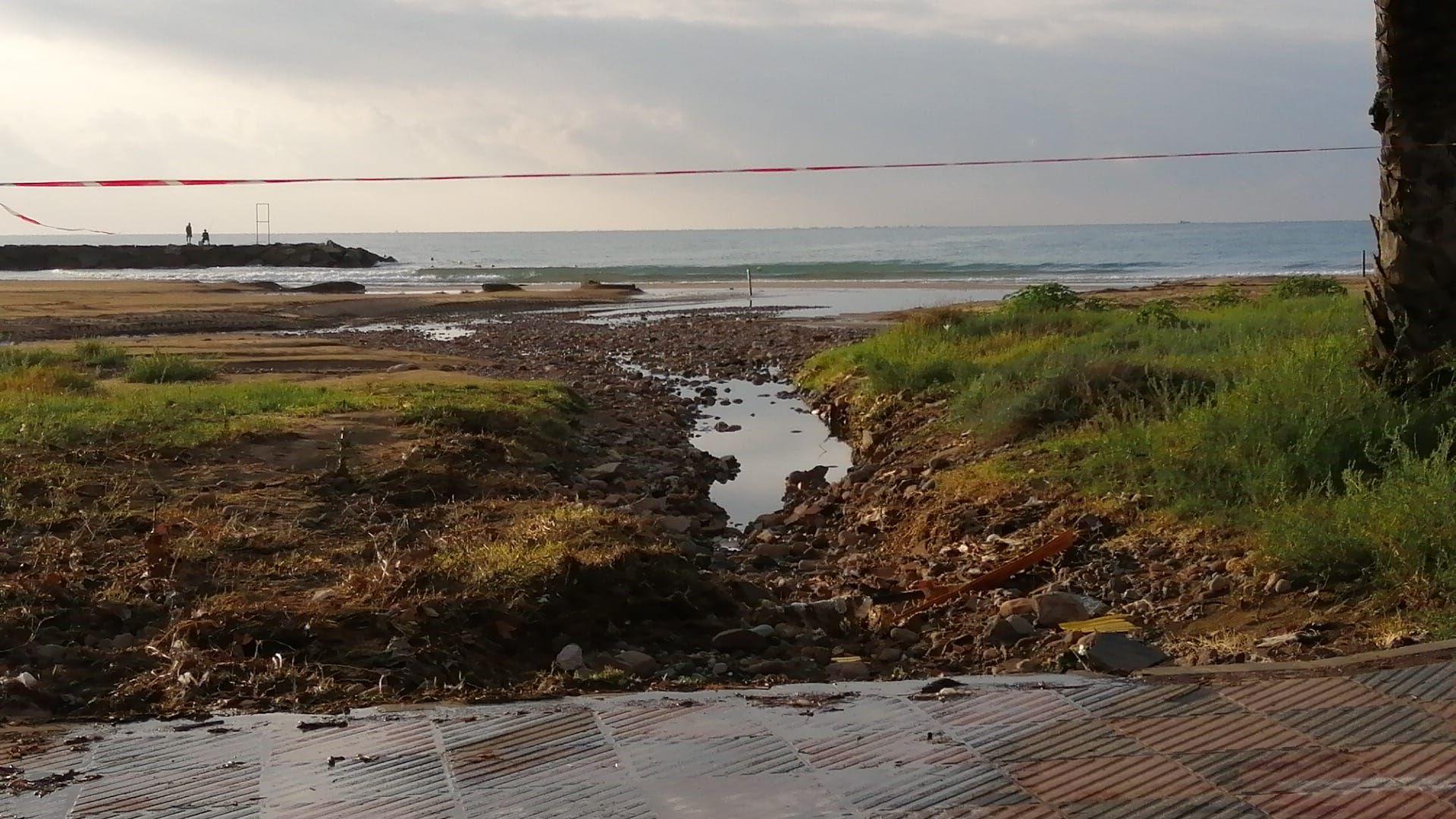 Estado en el que se encuentra la playa del Port de Sagunt