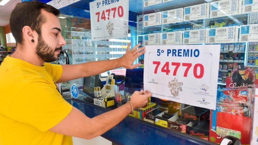Lotería de Navidad 2019 en el Sureste de Gran Canaria