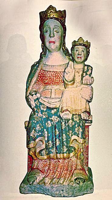 Virxe de Belén de Carboeiro co Neno. |   // A.A.