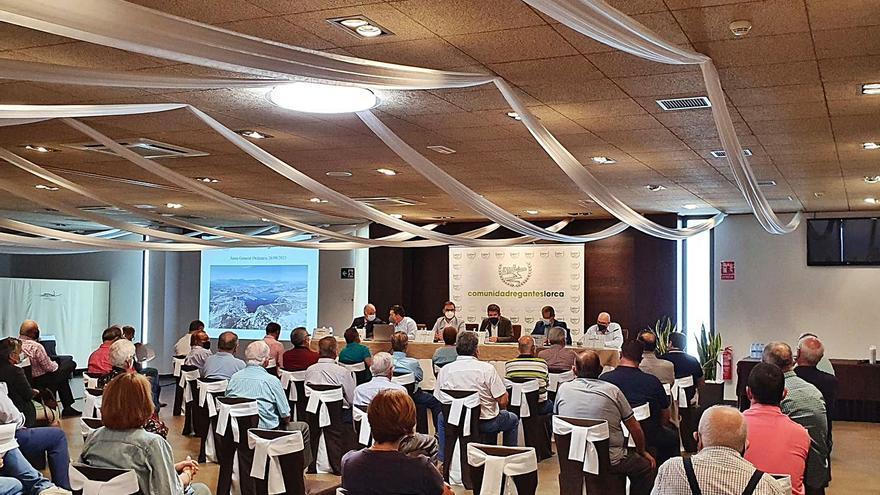 Los regantes de Lorca aprueban sus presupuestos y mantienen los mismos precios del agua