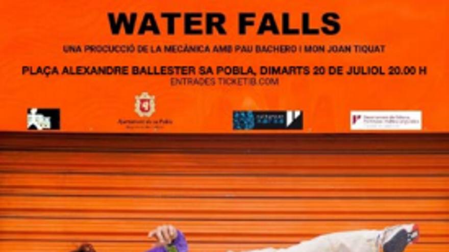 Festes de Santa Margalida i Sant Jaume - Art al carrer Waterfalls