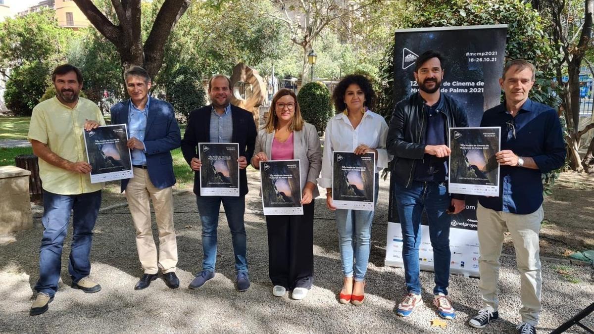 Presentación de la Mostra Cinema de Muntanya de Palma.