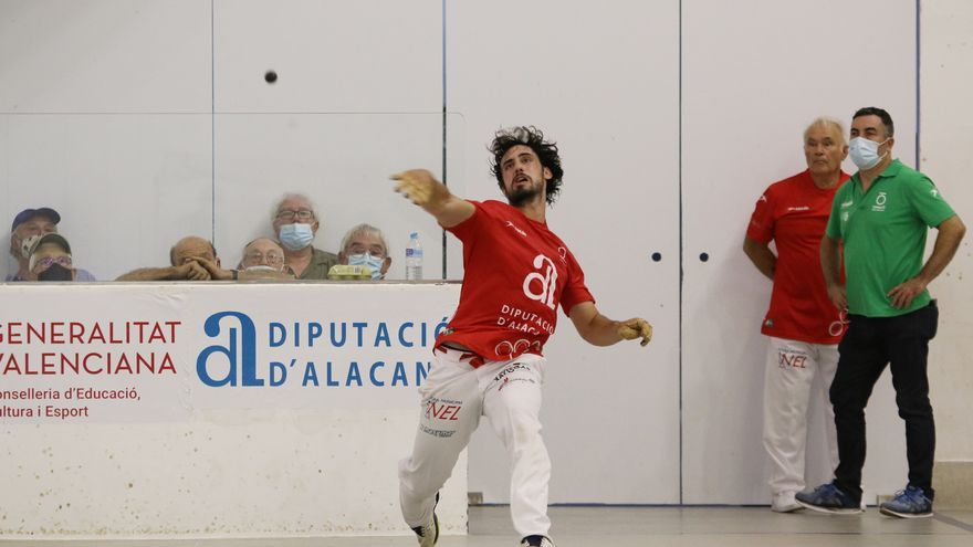 Trofeu Diputació d'Alacant: Giner, altra volta rei en la seua terra
