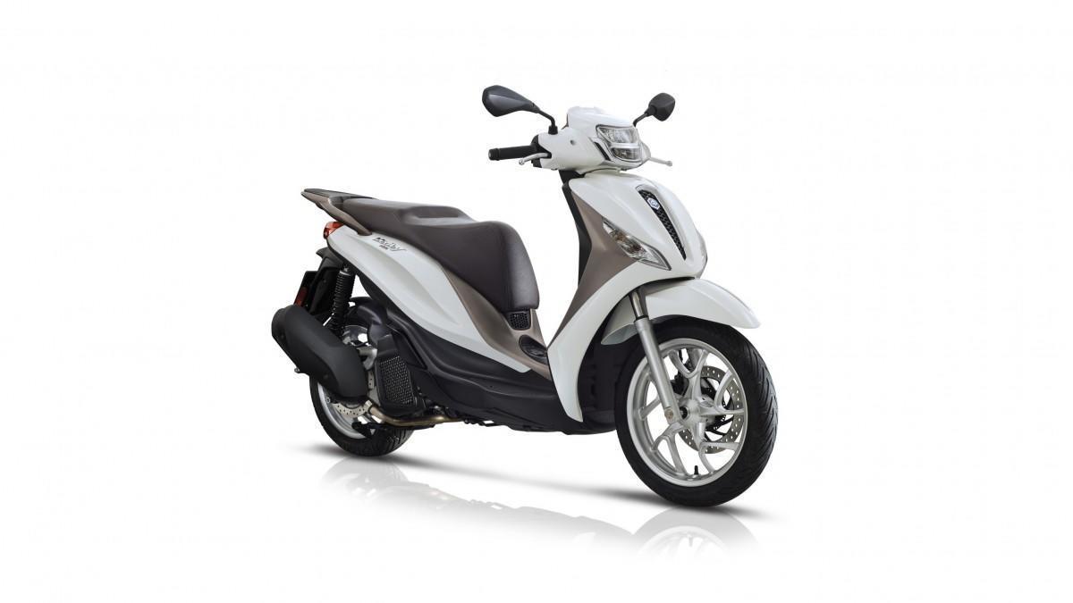 Piaggio Medley 125: Elegancia en rueda alta