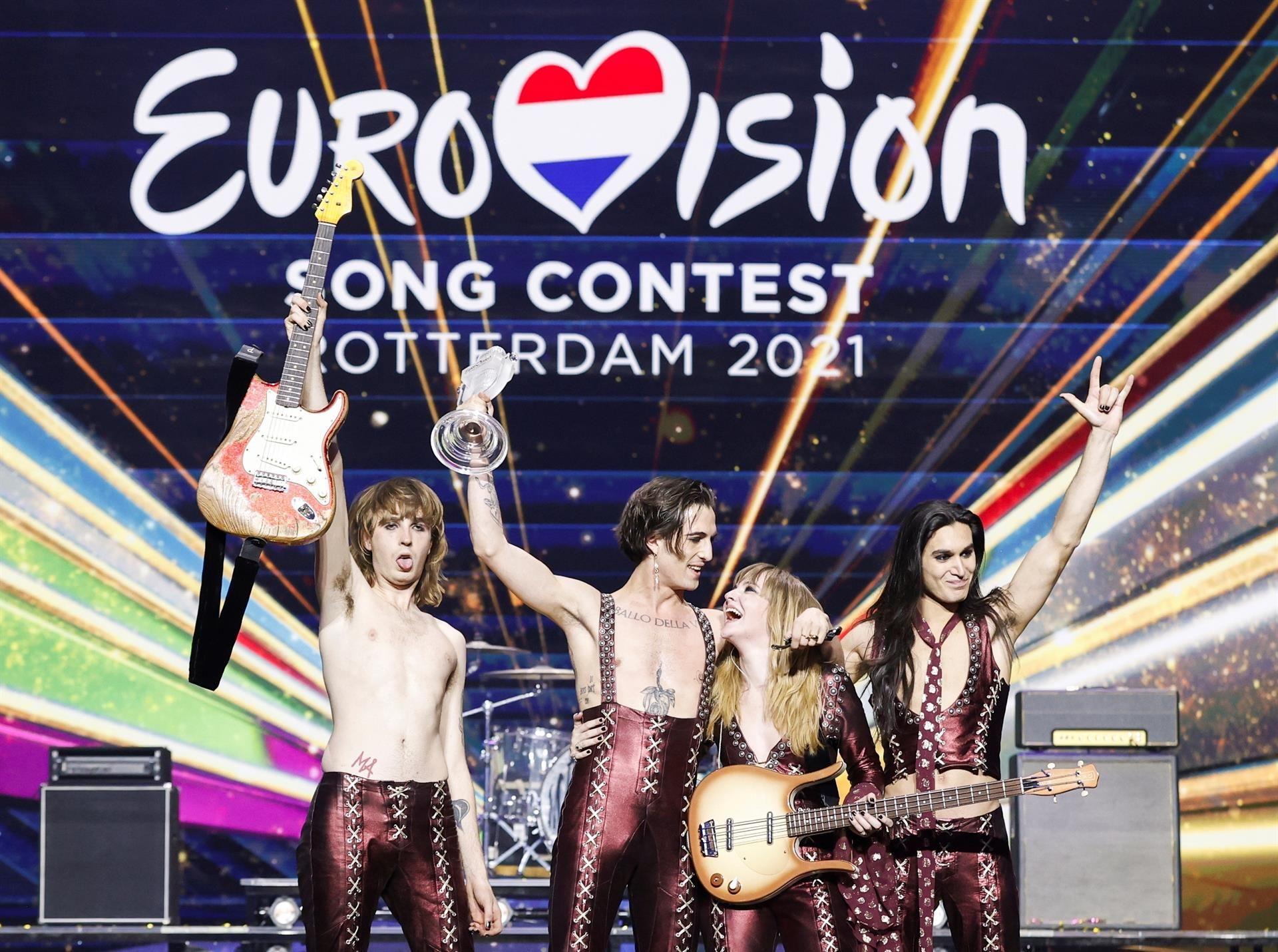 Italy wins Eurovision