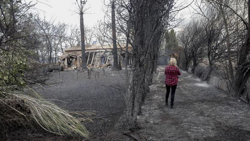 Großbrand in Albufera hinterlässt Spur der Zerstörung