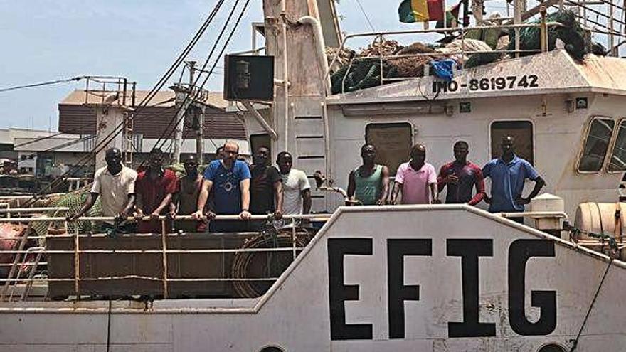 El Gobierno de Guinea niega la salida del 'Portomayor' que cumple un mes apresado