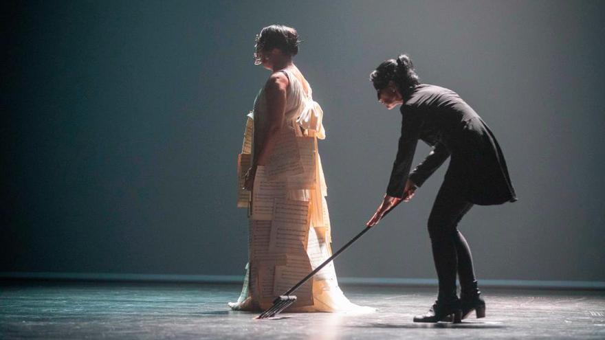 La Rossy de Palma más surrealista  y divertida, ovacionada en el Teatre Principal