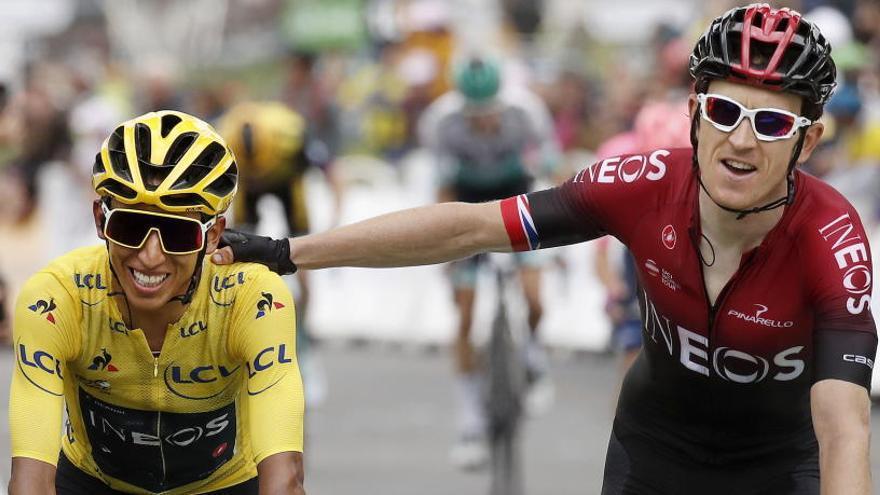 El Ineos afronta la Vuelta sin Egan Bernal ni Geraint Thomas