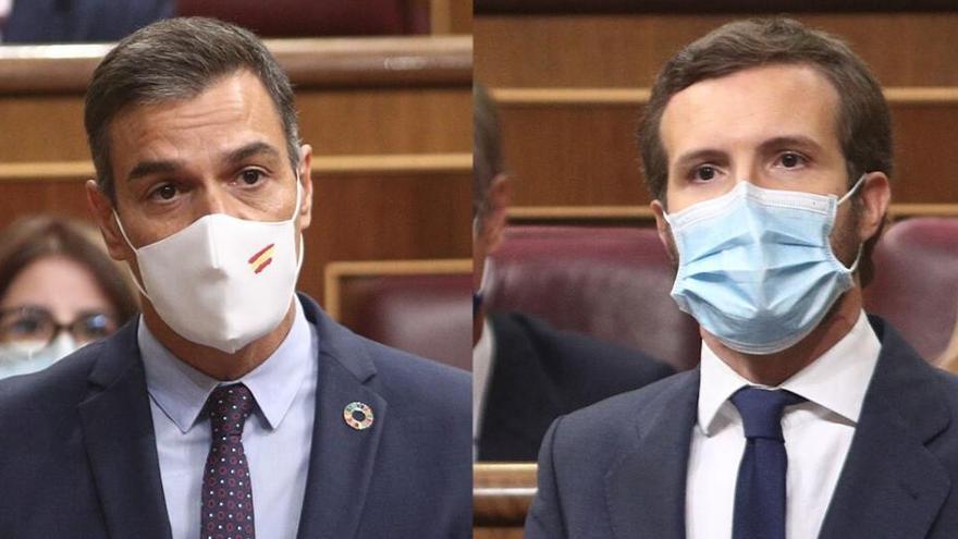 Sánchez y Casado retoman el contacto sobre el CGPJ pero sin lograr ningún avance