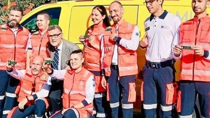 El personal sanitario de Baleares se implica en la lucha contra el cáncer