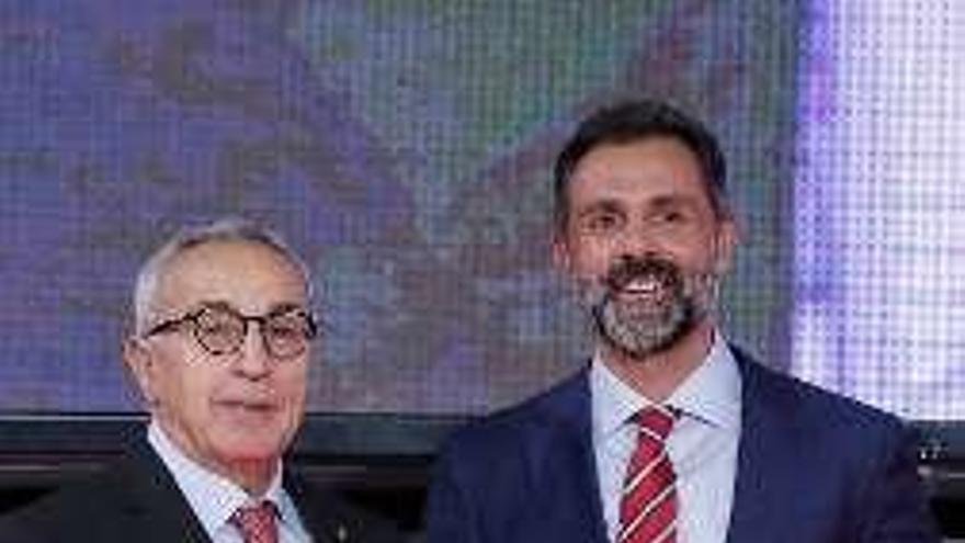 """Premio a los """"Valores Olímpicos"""" para Miguel García"""