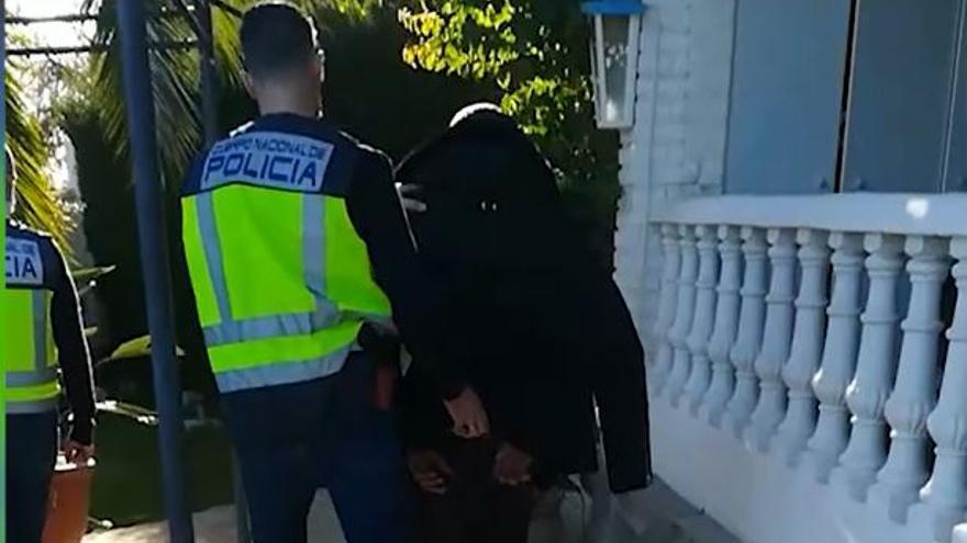 Detienen al líder de una organización dedicada al tráfico de estupefacientes huido de Alemania