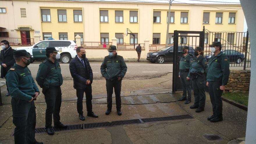 El subdelegado del Gobierno visita Montamarta, Pozuelo y Tábara