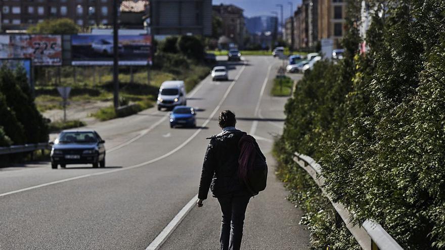Siero da luz verde hoy al proyecto para impulsar la conexión peatonal entre Lugones y La Fresneda