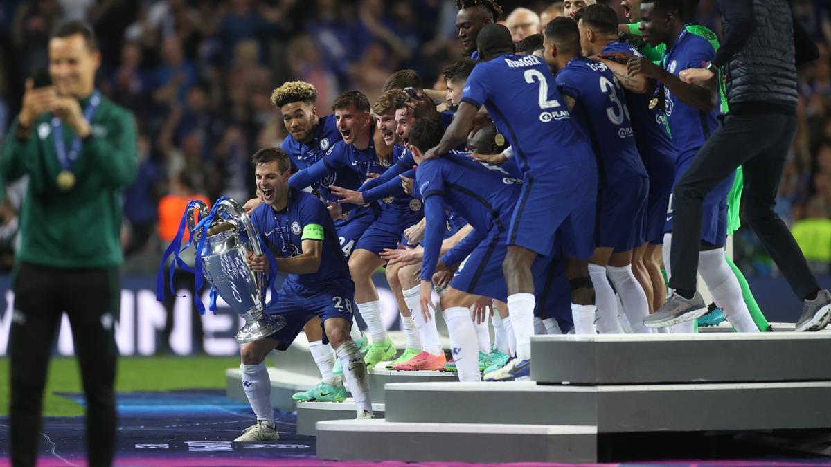 Los jugadores del Chelsea pelearán con el Villarreal en la Supercopa de Europa.