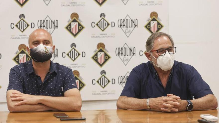 """Nacho Cabo mira hacia arriba: """"Trabajaré para que el Caudal sea el mejor equipo"""""""
