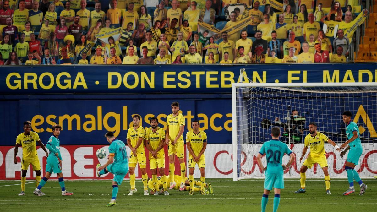 El Villarreal-Barcelona de la pasasa temporada.