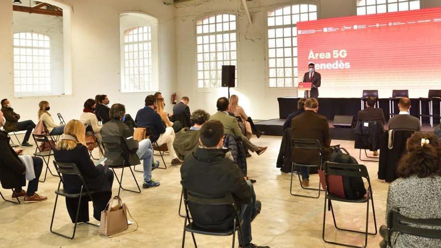 Arrenca el desplegament estratègic de l'Àrea 5G a la Catalunya Central per fer les empreses més competitives