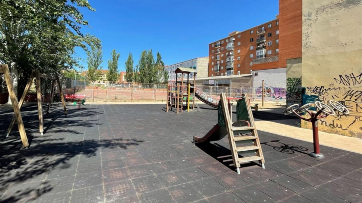 Parque Miguel Delibes de Benavente. / E. P.