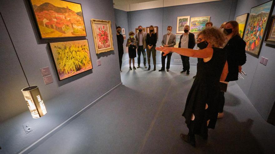 L'exposició 'Pintar, crear, viure' tanca portes aquest diumenge