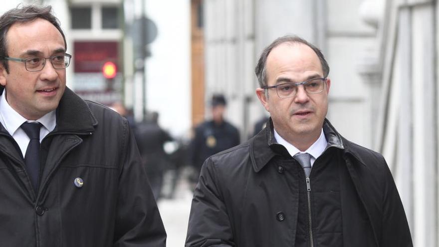 La Fiscalía pide la suspensión inmediata del tercer grado a Turull, Rull y Bassa