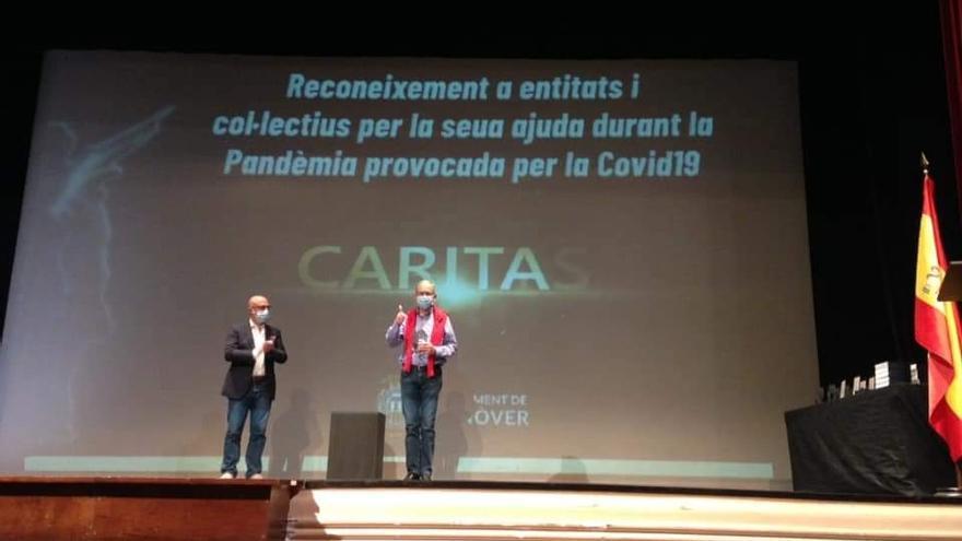 Reconocimiento de Monóvar a los colectivos que lucharon contra el Covid-19