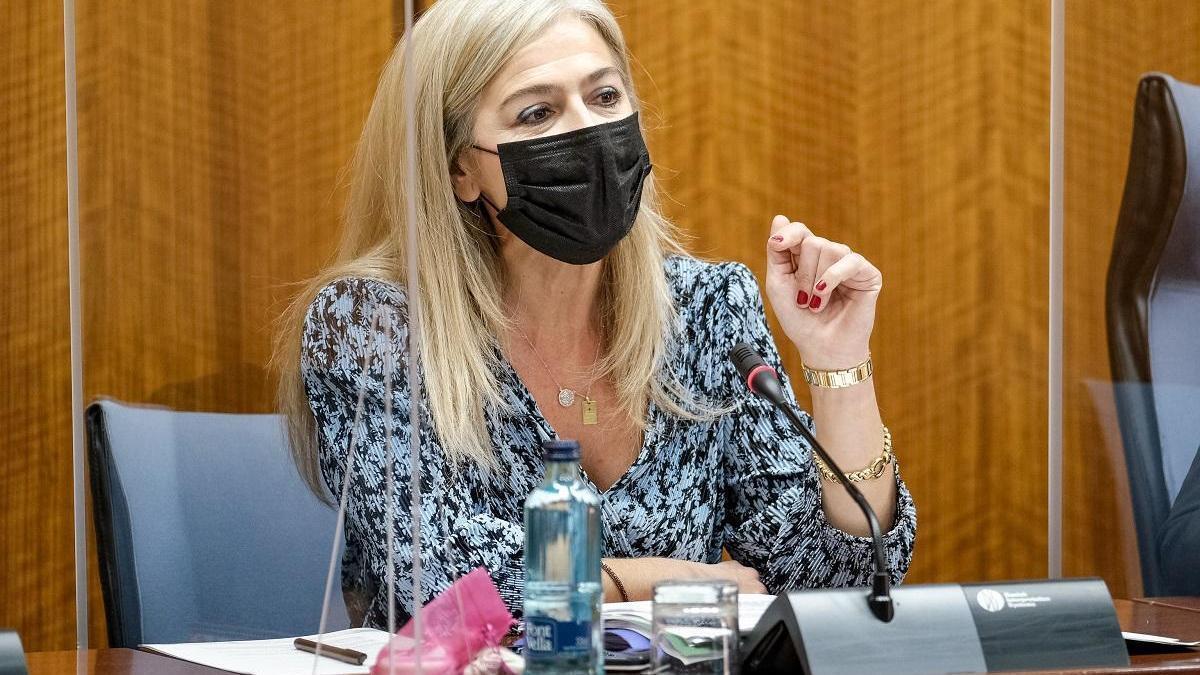 La consejera de Cultura de la Junta de Andalucía, Patricia Del Pozo.