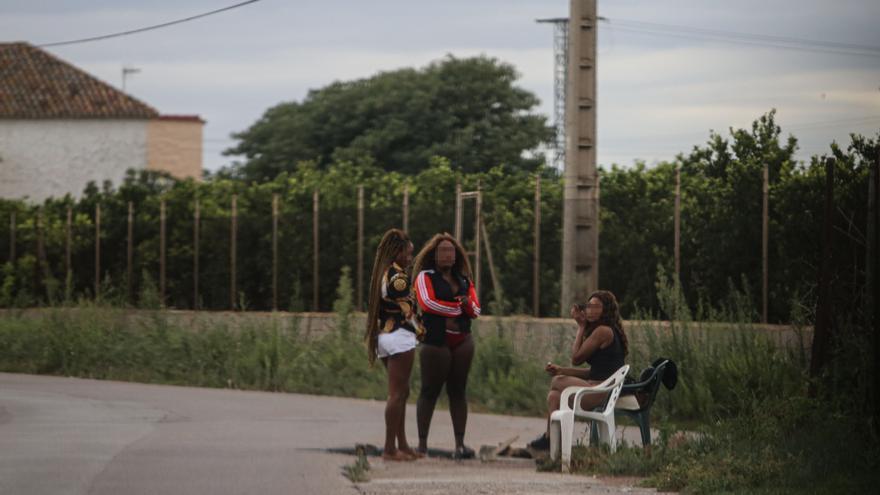 Prostitución en el Caminàs