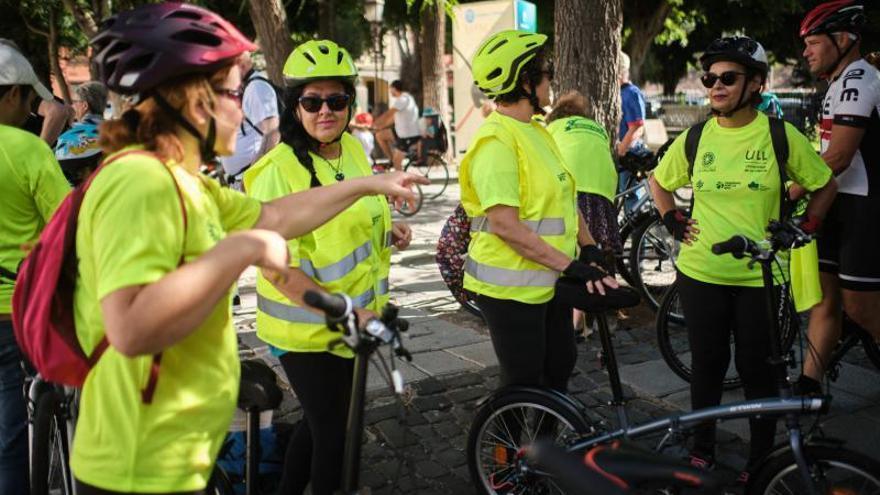 Bicifestación para la creación de los carriles bici en 2021