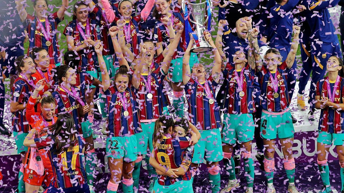El Barça conquereix Europa