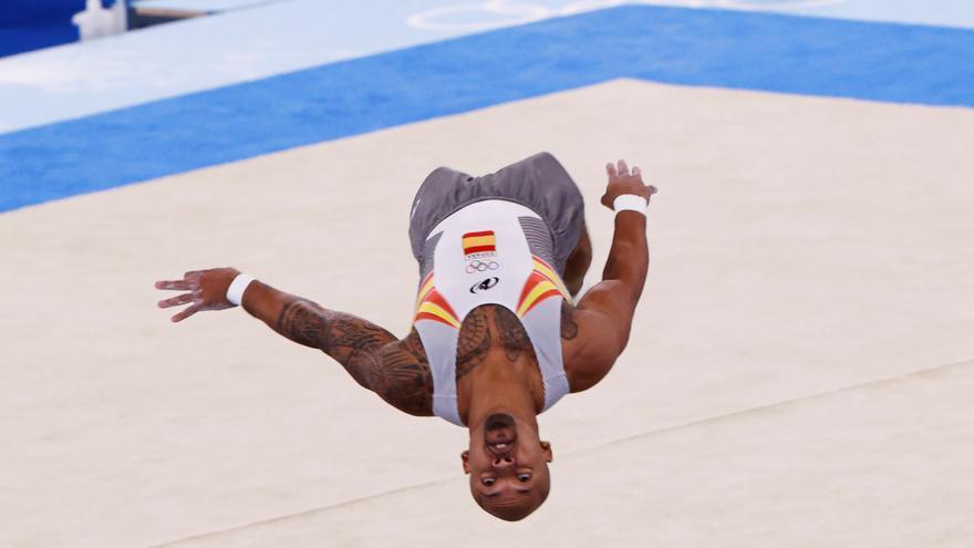 Rayderley Zapata consigue la sexta medalla para España en suelo