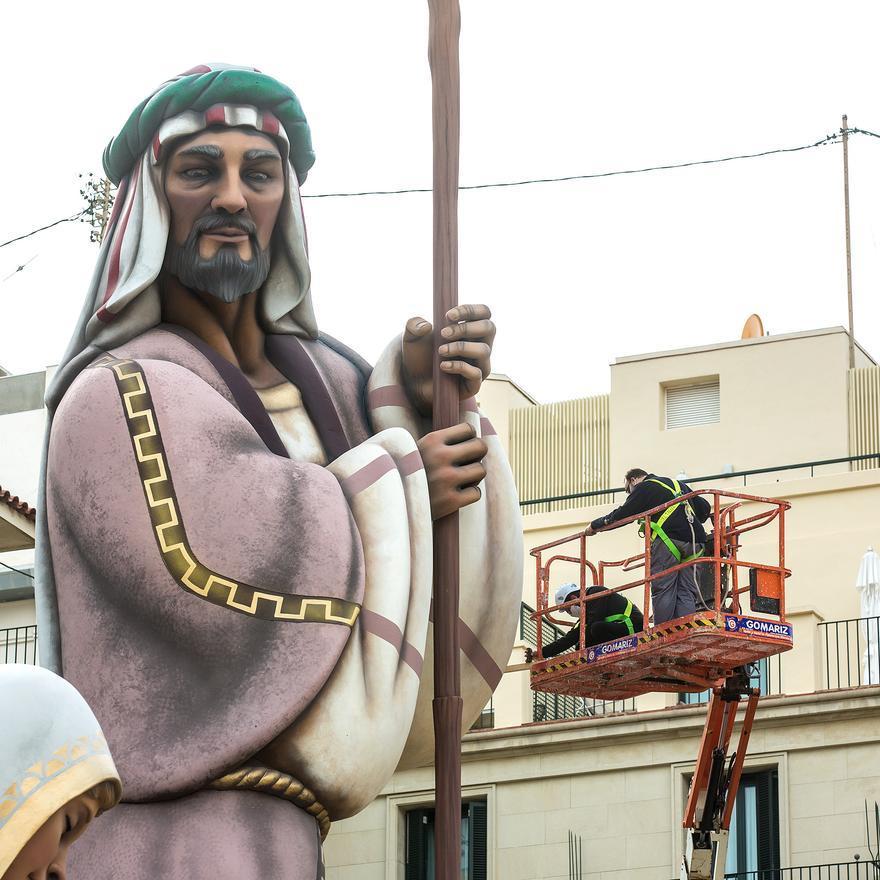 Así es el Belén gigante de Alicante
