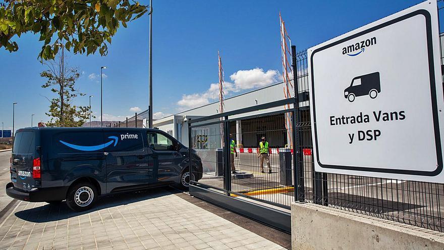 Amazon ya reparte pedidos desde su nueva estación logística de la ciudad de Alicante