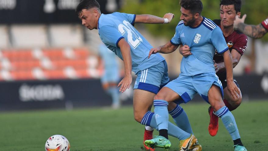 El FC Cartagena cae contra el Valencia
