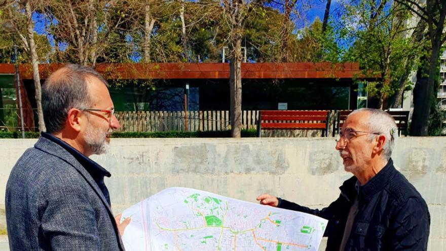 Pere Casellas proposa activar la creació de dos grans eixos de carril bici a Figueres