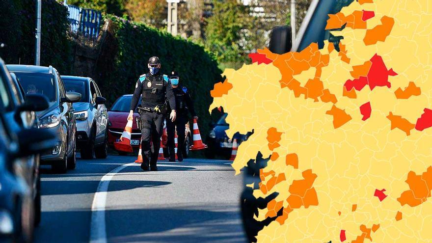 El mapa oficial de la desescalada en Galicia: ¿en qué nivel está mi concello?