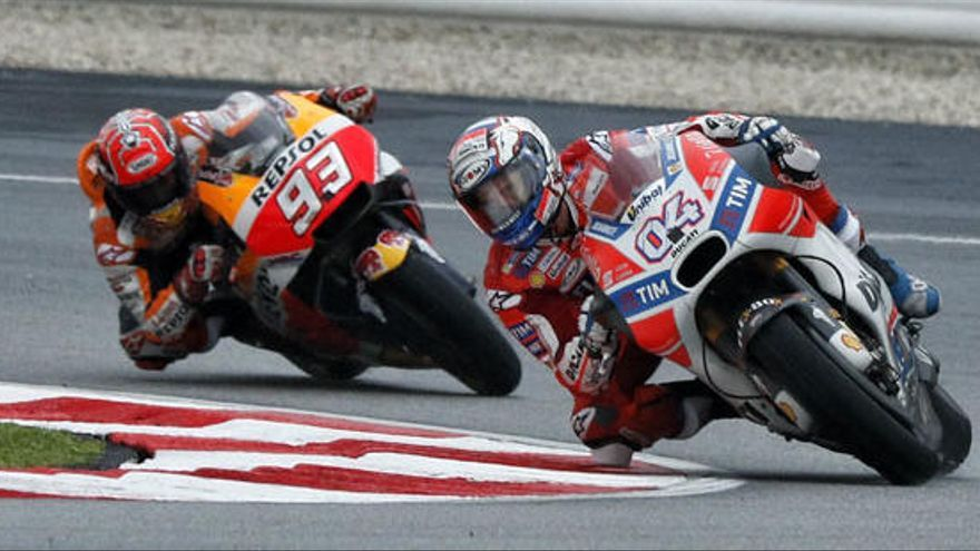 Márquez y Dovizioso se juegan el Mundial de MotoGP en Cheste
