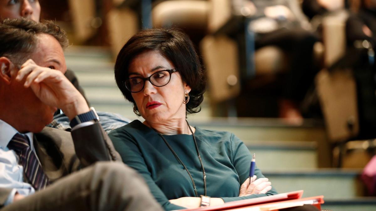 La magistrada Pilar de Lara.