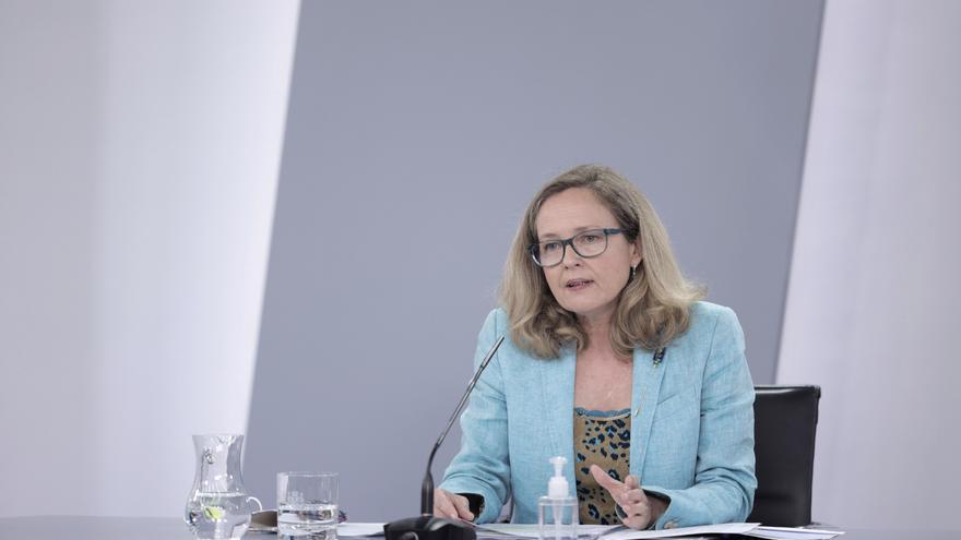 """Calviño dice que la presencia de Aragonès y Urkullu en la Conferencia de Presidentes """"es importante"""""""
