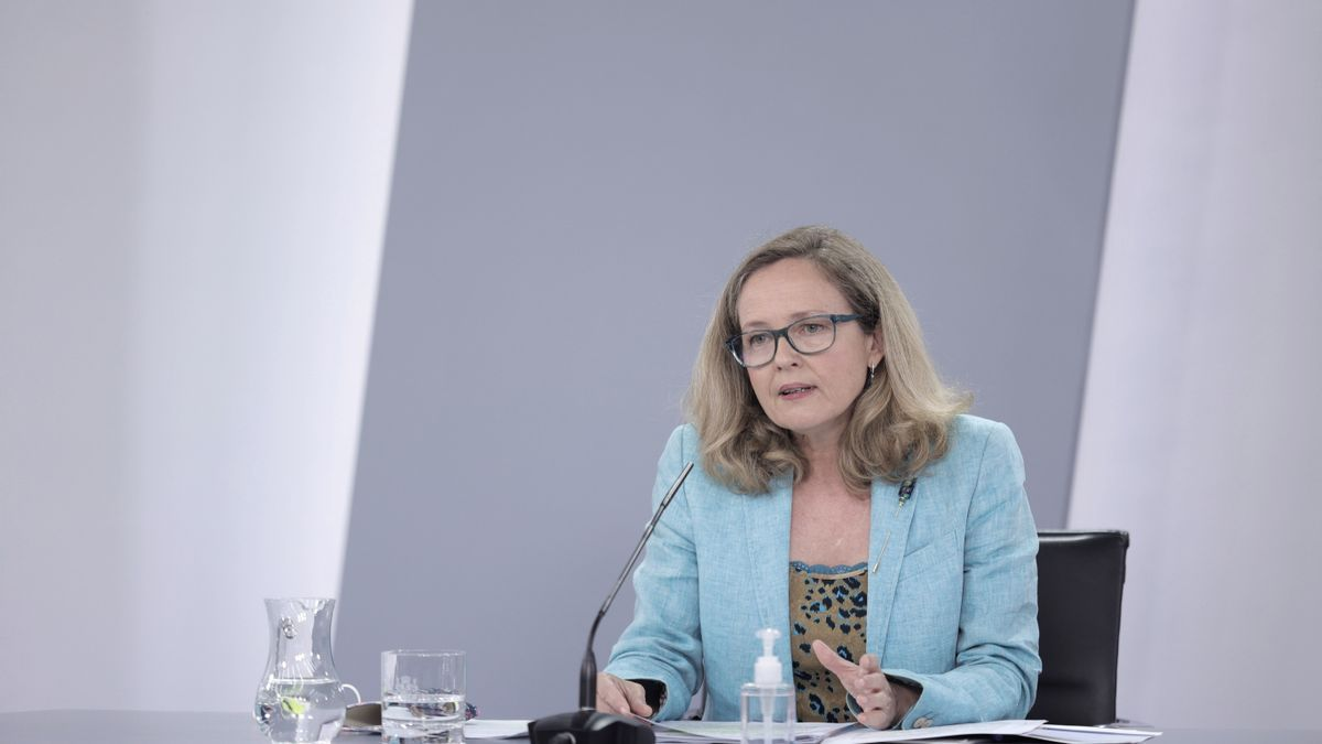 Nadia Calviño.