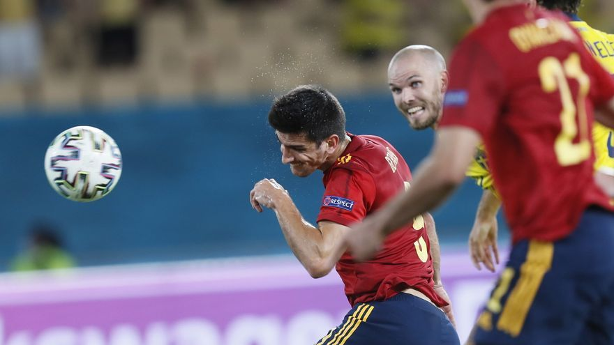 Luis Enrique planea un ataque de España con Morata y Gerard