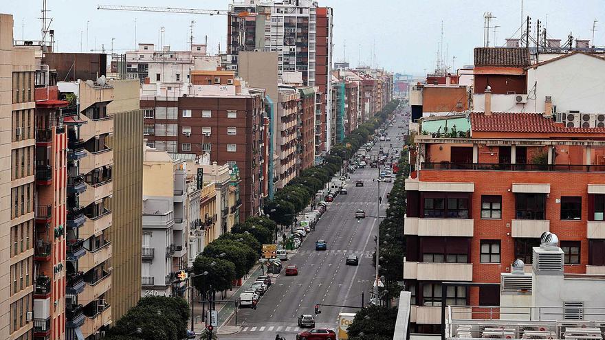 La avenida del Puerto pasará de tener cinco carriles a solo dos