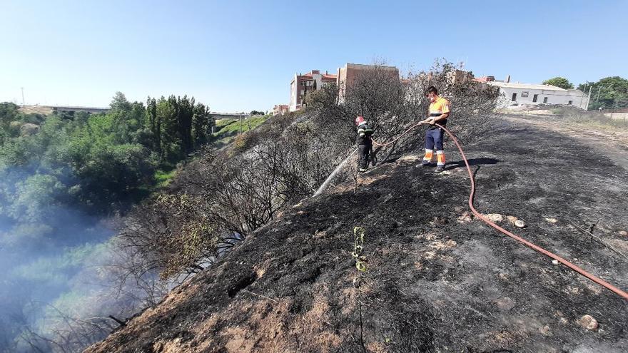 Castilla y León registra ocho incendios forestales en las últimas horas