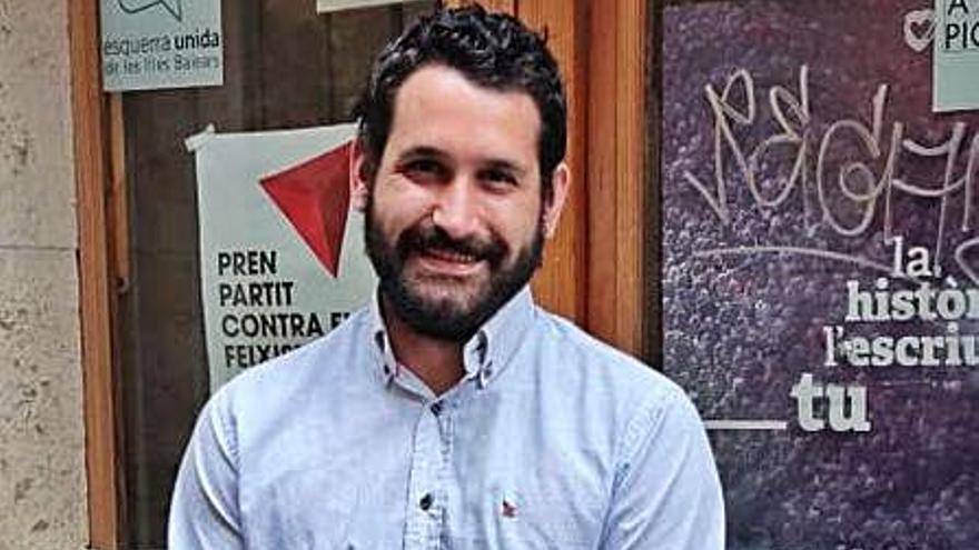 Juanjo Martínez, reelegido líder de Esquerra Unida en Baleares
