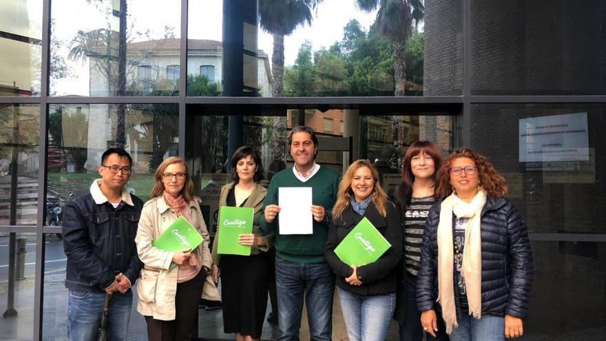 Contigo Alicante registra su candidatura oficial para las elecciones municipales