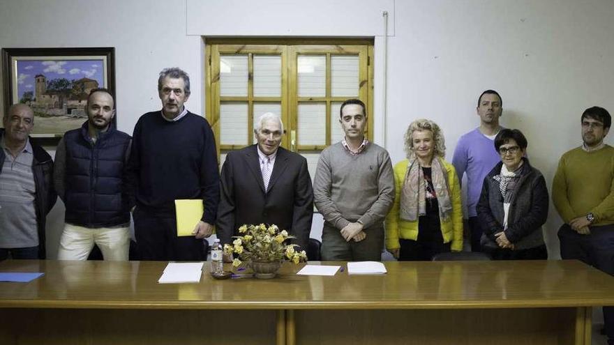 El grupo de trabajo creado en Villabrázaro liderará el impulso industrial de la comarca