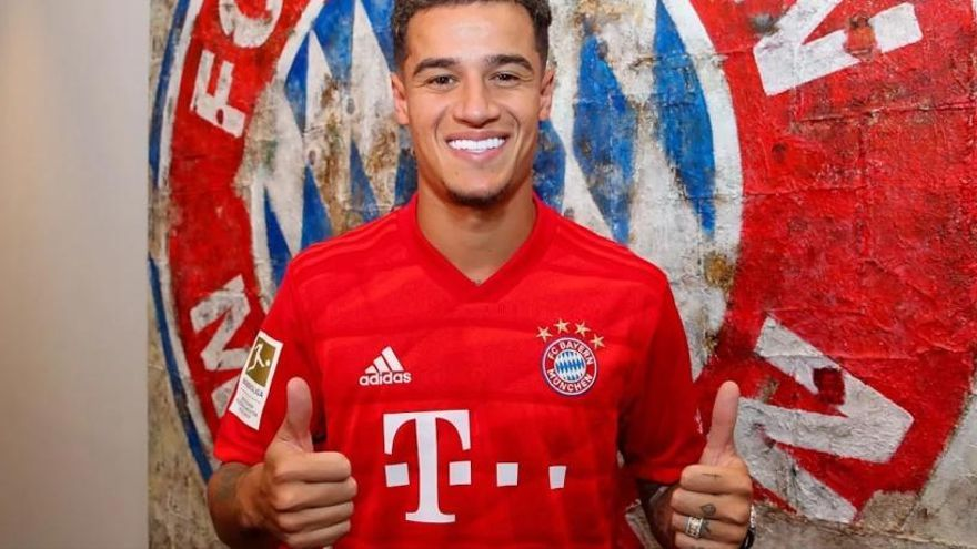 El Barça cedeix a Coutinho al Bayern per 8,5 milions