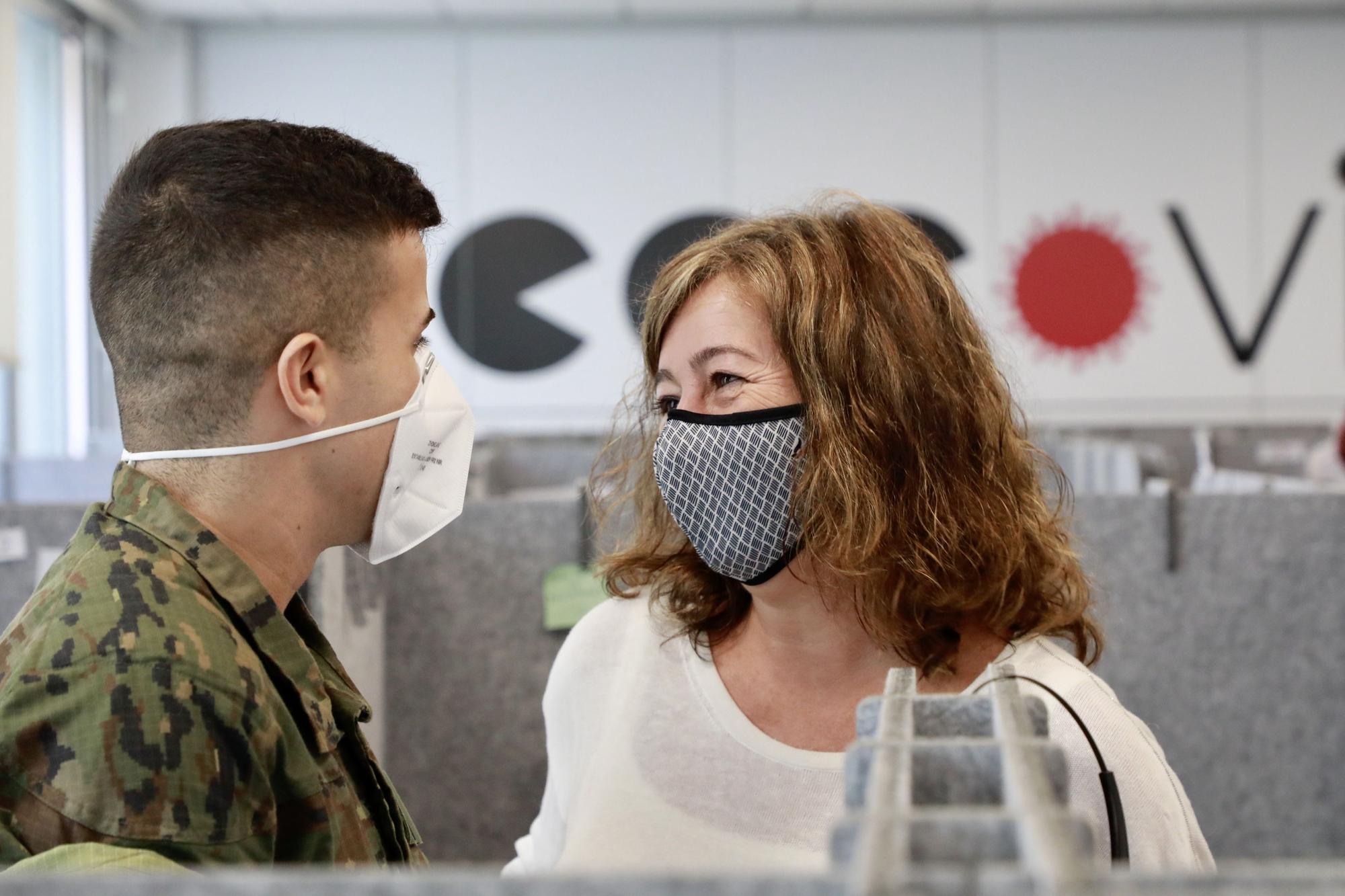 Los militares de Baleares dejan de realizar labores de rastreo de los casos de coronavirus